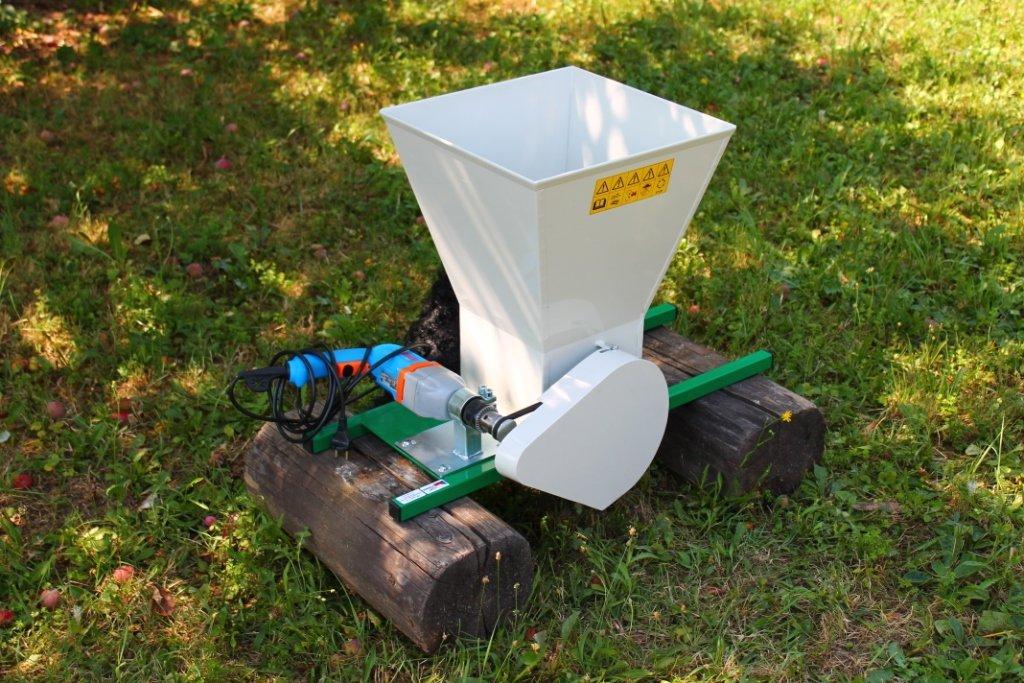 Drtič na ovoce elektrický pro vrtačku DE 30VL