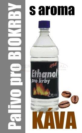 Ethanol do BIO krbů 1 litr - káva