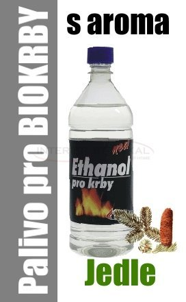 Ethanol do BIO krbů 1 litr - jedle