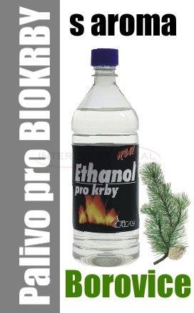 Ethanol do BIO krbů 1 litr - borovice