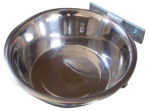 Miska pro psa 2,8 l s držákem do kotce