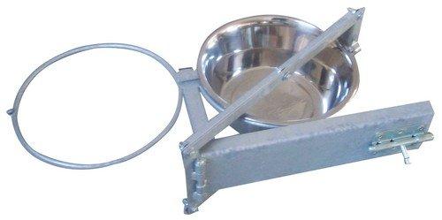 Miska pro psa 2 x 4 l s otočným držákem do kotce