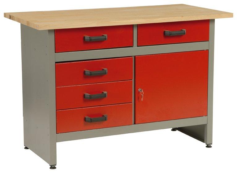 Dílenský stůl 5802 - pracovní stůl do dílny, ponk