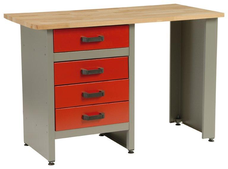 Dílenský stůl 5803 - pracovní stůl do dílny, ponk