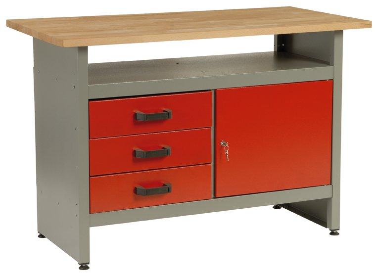 Dílenský stůl 5804 - pracovní stůl do dílny, ponk
