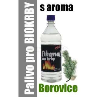 Ethanol do BIO krbů 1 litr - borovice
